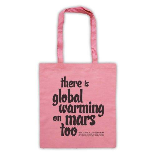 Esiste riscaldamento globale On Mars troppo Protest Tote Bag Rosa