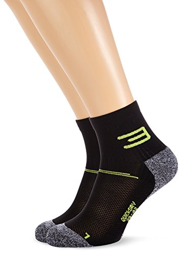 Jack & Jones Tech Herren Socken Low Cut Training Sock 2 Pack, Dark Grey Melange, 43-46, 12099935 (Cut Low Herren-socken)