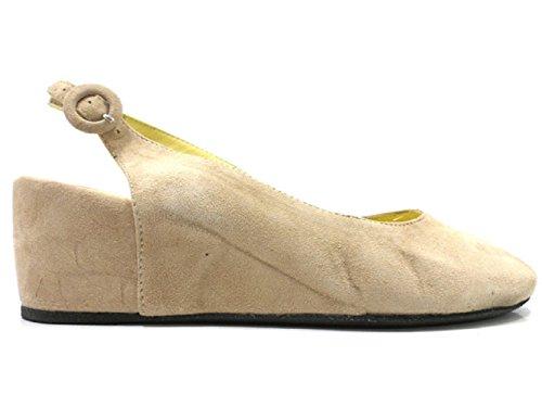 WILLYS ANGELS sandali donna beige camoscio (36 EU)