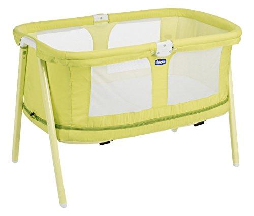 Chicco Lullago - Cuna ultraligera y compacta, 7kg, color amarillo