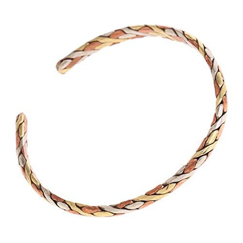 Baoblaze Armband geflochten Armreif Schmuck für Damen - #1