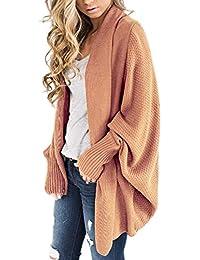 bae86157f9a285 Simple-Fashion Autunno Donne Maglieria Cardigan Inverno Quotidiani Casual  Giacche Sweater Pullover Tops Coat Moda
