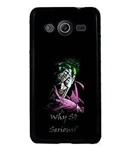 printtech Joker Why So Serious Back Case Cover for Samsung Galaxy Core Prime G360