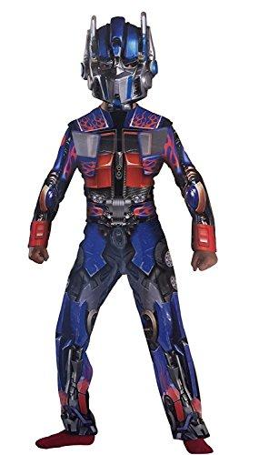 Prime Transformers 'Revenge of the fallen' Deluxe Optimus Fancy Kleid Kostüm (Transformers Halloween-kostüm)