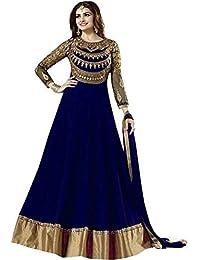 Prachi Desai Georgette Embroidery Work Salwar Suit With Handwork Diamond