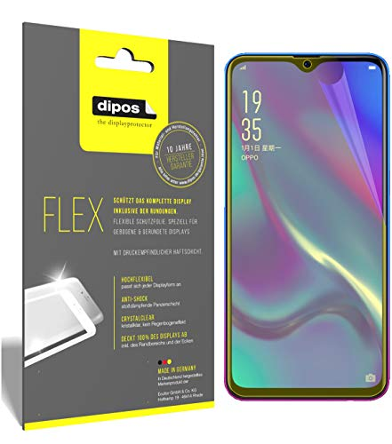 dipos I 3X Schutzfolie 100prozent passend für Oppo RX17 Neo Folie (Vollständige Bildschirmabdeckung) Bildschirmschutzfolie