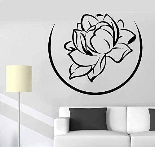 28 * 43cm High Quality Home Livingroom Wall Decals Floral Flower Wall Stickers Home Wall Decor Vinyl Home Art Decoration Wall Mural