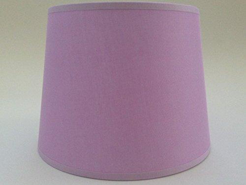 20,3 cm Empire Lilas Tissu de coton Abat-jour lumière Abat-jour Table fait à la main.