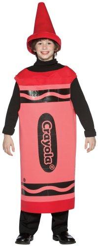 Red Crayola Crayon Tween Kost-m (Crayola Crayon Kostüme Erwachsene)
