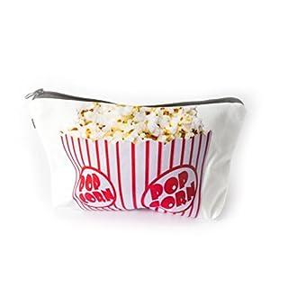 Hipster Popcorn Allround Tasche Make Up Kosmetiktasche Kulturbeutel Stiftemäppchen Federmappe Reise Geldbeutel Cosmetic Bag