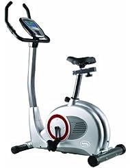 Body coach-vélo d'appartement ergomètre eMS (argent/gris/noir - 28152