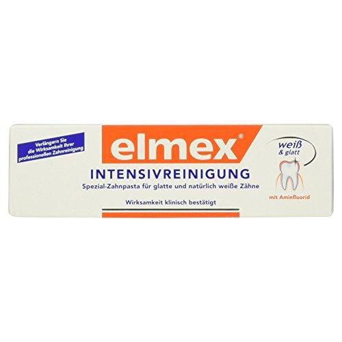 Price comparison product image elmex INTENSIVREINIGUNG Spezial-Zahnpasta,  50 ml [Badartikel]