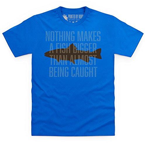Almost Being Caught T-Shirt, Herren Royalblau