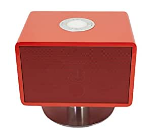 DynaBass Piano Mini Station Musicale de Table 20 W Rouge