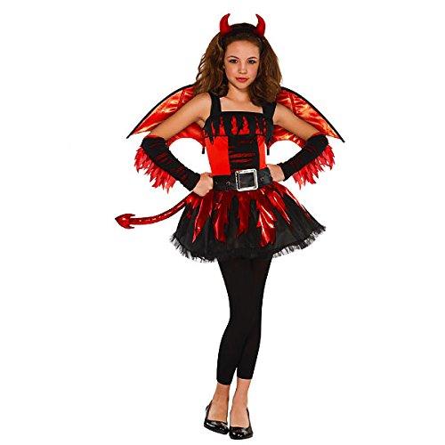 Ein Teenager Für Mädchen Kostüm - Generique - Teufelin-Kostüm für Teenager