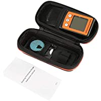 Medidor de espesor de revestimiento CM8801FN LCD Portátil Pintura Digital Grosor de revestimiento Probador automático Medidor de medidor de medición