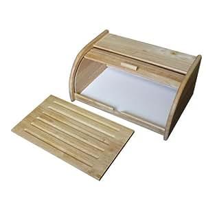 Metaltex 69043510080 brotbehalter mit brett amazonde for Müllbeh lter küche