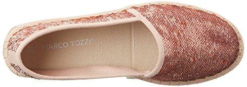 Marco Tozzi Damen 24220 Espadrilles Pink (Rose Metl.Comb 532)