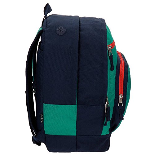 Imagen de pepe jeans reed  escolar, 32.38 litros, color verde alternativa