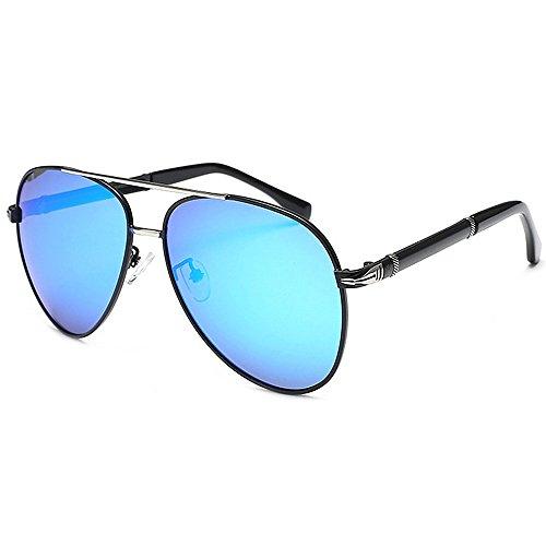 Ppy778 Polarisierte Sonnenbrillen der Männer Heiße Mode-Gläser für das Fahren im Freien Fischen Golf , Metallrahmen (Color : RED)