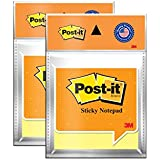 3M Post-it Yellow Notes - Pack of 2