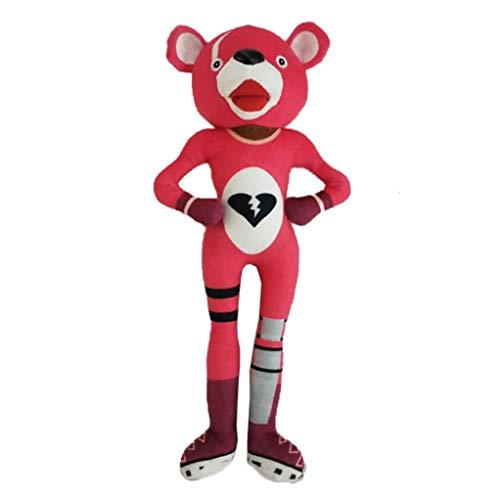 Cuddlekins Kuscheltier 30CM Cartoon weicher rosa Bär Puppe gefüllte Spielzeug Plüsch Puppe Spielzeug / Bear Mask Kostüm Cosplay Spielzeug (Rosa) ()