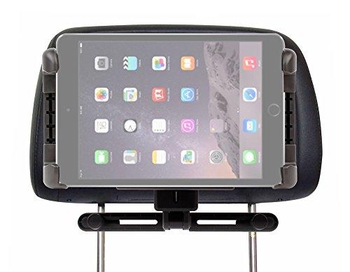 DURAGADGET Soporte De Coche Para Apple iPad Air 2 ( Wi-Fi, Wi-Fi + Cellular ) - Perfecto Para El Reposacabezas