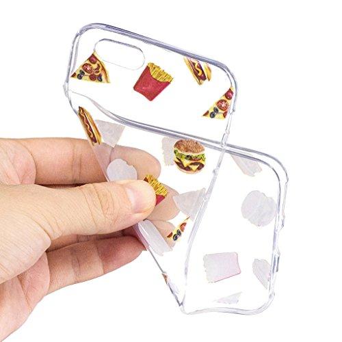 Per iPhone 6 Plus / iPhone 6S Plus Cover , YIGA corona imperiale Cristallo Trasparente Silicone Morbido TPU Case Shell Caso Protezione Custodia per Apple iPhone 6 Plus / iPhone 6S Plus (5.5) LF2
