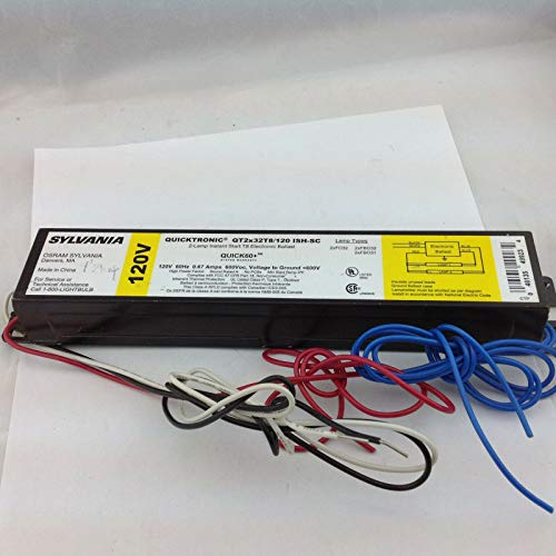 Sylvania Quicktronic QTC2x32T8/120 ISH-SC Fluoreszierendes Vorschaltgerät - Instant-start-leuchtstoffröhren