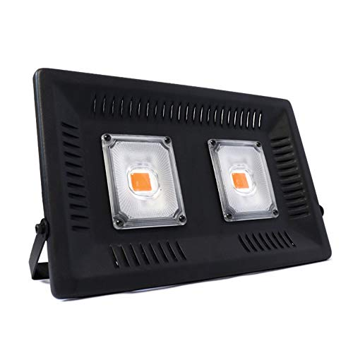 Anlage 100W LED wachsen Licht, geführt wachsen Lichter volles Spektrum für Anlage/Anlage im Freien, natürliche Wärmeableitung ohne Lärm wasserdicht Digital Meter Tester (Size : 220V-EU-plug)