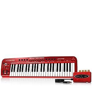 Behringer U-Control UMX490 49-Key USB/MIDI Controller Keyboard with USB/Audio Interface