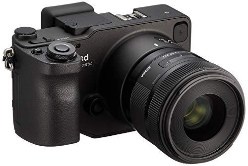 Sigma sd Quattro spiegellose Systemkamera (33 Megapixel, 7,6 cm (3 Zoll) Display, SD-Kartenslot, SDHC-Kartenslot, SDXC-Kartenslot, Eye-Fi-Kartenslot, Kit inkl. 30mm F1,4 DC HSM) schwarz