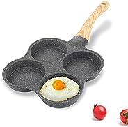 4-Hole Egg Frying Pan 4-Mold Pan Non-stick Frying Pan 4-Cup Egg Frying Pan Maifan Stone Coating Egg Cooker Pan