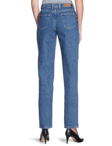 Eddie Bauer Damen Jeans Normaler Bund, 21007001 Blau (Stonewashed)