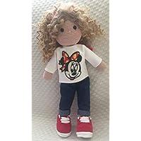 Muñeca Amigurumi de ganchillo tipo Waldorf. Waldorf amigurumi crochet doll