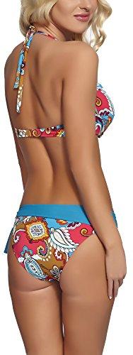 Feba Coordinati da Push Up Bikini per Donna Sonia Modello-05D
