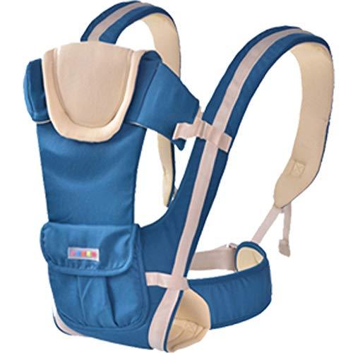 Lenfesh Baby Trage Elastisches Tragetuch Babytrage mit Abnehmbarem Kapuze Ergonomische Kindertrage Bauchtrage Hüftsitz für baby Rückentrage Babytrage 2 in 1 kindertrage