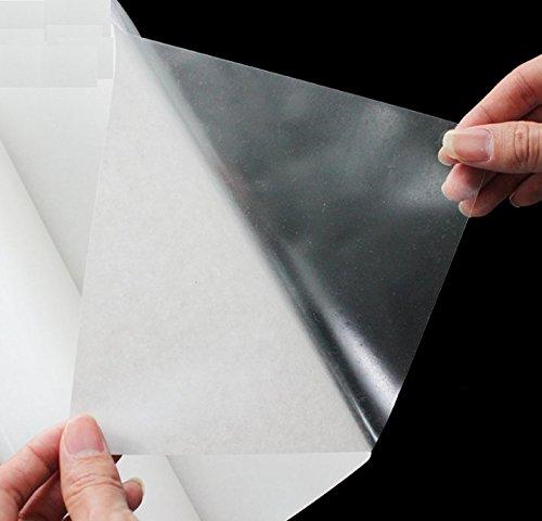Sticker Cuisine transparent résistant aux hautes températures pour animaux de matériaux résistant à l'huile autocollants autocollant mur imperméable Armoire avec hotte cuisinière autocollant est 5 mètres de long et 0,6 mètres de large (3 M * L)