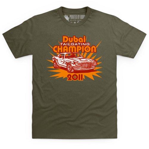 Dubai Tailgating Champion T-Shirt, Herren Olivgrn