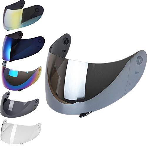 Visiera Casco AGV K3 K4 K4 EVO Trasparente Fume' Blu Oro Specchio Arcobaleno Iridium Aftermarket (SPECCHIO)
