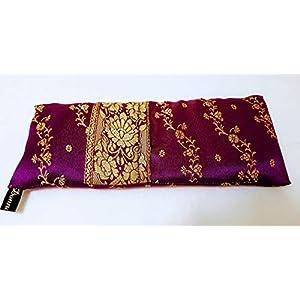 Augenkissen.Bio Amaranth mit Lavendel oder Minze. Valentinstag