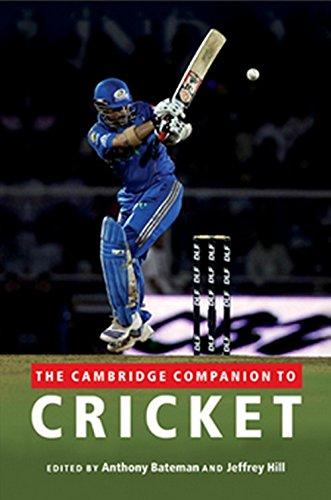 The Cambridge Companion to Cricket por Anthony Bateman
