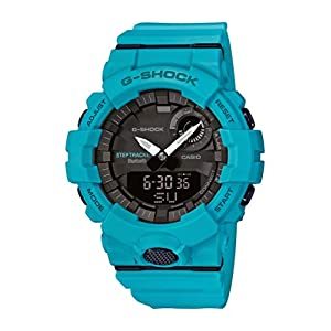 CASIO Herren Analog-Digital Quarz Uhr mit Harz Armband GBA-800-2A2ER