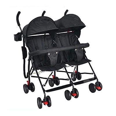 Tandem Double Toddler & Baby Cochecito, Tandem Doble Cochecito ? Cochecito Con Respaldo Ajustable, Reposapiés, Diseño Plegable For Facilitar El Transporte