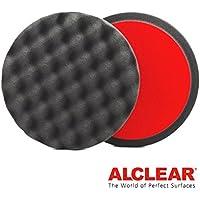 ALCLEAR Set di 2 dischetti per lucidatura a cialda anti ologrammi per un sistema disco Ø 160x30 mm, antracite - ukpricecomparsion.eu