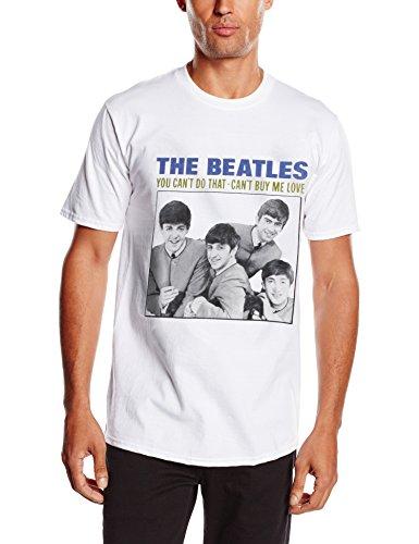 Unbekannt Herren T-Shirt You Cant Do That Weiß - Weiß