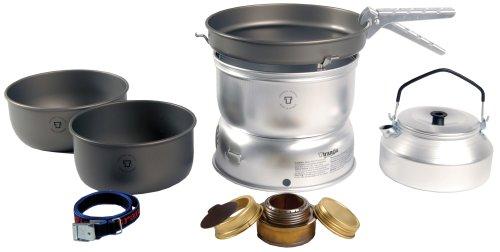 Preisvergleich Produktbild Trangia 25 Harteloxiertes Kochset mit Wasserkessel und Spiritus-Brenner