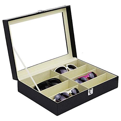 GLJ Caja De Almacenamiento Multifuncional Gafas De