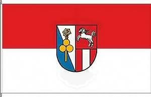 Königsbanner Hissflagge Albaching - 100 x 150cm - Flagge und Fahne