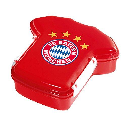 FC Bayern Brotzeitdose Trikot Rot